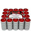Lumar Aromatic Velas de té aromáticas (Frutos Rojos Pack 100 Velas)