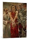 Kunst für Alle Cuadro en Lienzo: Lovis Corinth ECCE Homo - Impresión artística, Lienzo en Bastidor, 75x95 cm