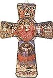 8,3 cm Santo espíritu crucifijo cruz de madera para colgar en la pared BW869