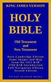 Holy Bible - Old Testament and New Testament: King James Version - Full Navigation (English Edition)