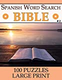 Spanish Bible Word Search: Spanish Word Find Books for Adults | Seniors (Large Print - 100 Puzzles) [Vol 2]