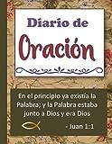 Diario de oración: Cuaderno para tomar notas y estudiar los versículos de la Biblia - Verso Juan 1:1
