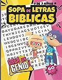 SOPA DE LETRAS BÍBLICAS: Crea un genio!, 60 juegos para niños de + de 7 años .: 60 juegos en LETRA GRANDE, inspirados en las promesas de Dios - Actividades Cristianas