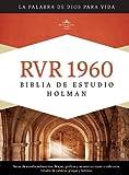 RVR 1960 Biblia de Estudio Holman, tapa dura con indice