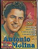 Antonio Molina 4 DVDs Café de Chinitas + Andalucia Chica + El Cristo de los Faroles + El Pescador de Coplas