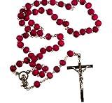 Rosary Pétalo de rosa perfumado Padre Pio Rosario. San Padre Pio (Pius) de Pietrelcina, O.F.M. Cap
