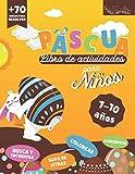 Pascua Libro de Actividades: + 70 Juegos para los Niños de 7 a 10 años   Colorear, Sopa de Letras, Laberintos, Busca y Encuentra   Tamaño Grande