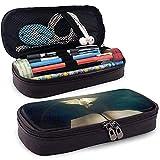 Estuche de lápices de cuero de la PU, soporte para bolígrafo de la Sagrada Biblia, bolsa de maquillaje cosmético, bolsa de lápiz organizador de papelería