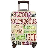 Nicokee - Funda Protectora para Maleta de Viaje con diseño de capítulos y Versos de la Biblia, Multicolor (Multicolor) - UKXXLX-FCZ-95408895