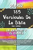 Diario 185 Versículos De La Biblia Para Eliminar La Ansiedad Y El Estrés: Cómo Controlar La Ansiedad en Momentos Difíciles A Través De Meditaciones Diarias. Meditación Guiada (Incluida)