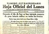 HOJA OFICIAL DEL LUNES. AÑO VII. N. 303. 16-AGOSTO-1936.